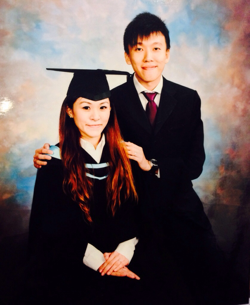 Graduation picture for the conferment of my Bachelor of Laws (Hons) degree