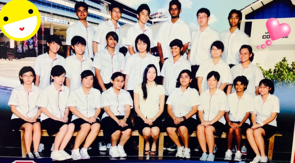 Class photo during my 1st year in JC